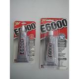 Pega Adhesivo Permanente E6000 Transparente Extra Grande