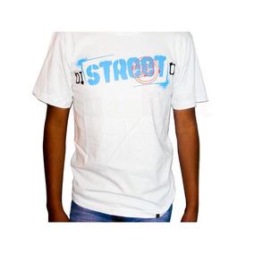 Playera Distreeto Letras Azules T-shirt Street