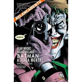 Batman - A Piada Mortal - Alan Moore. (capa Dura)