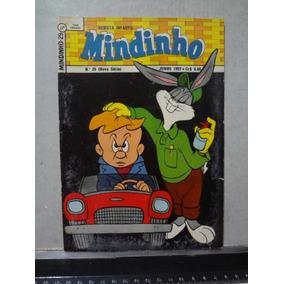 Hq Mindinho Nº 29 1957 Revista Infantil Pernalonga 2º Série