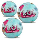 Pack 3 Muñecas Lol Surprise Tot Ball Originales R2776