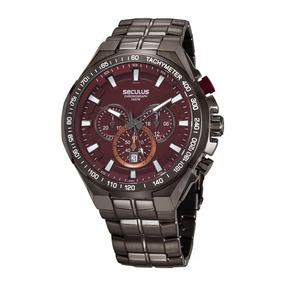 Relogio Seculus 20013gpsgbc3 Cronografo Safira - Relógios no Mercado ... a0fc5a06e9