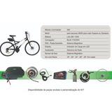 Kit Elétrico Para Bicicleta Pedal Assistido C/ Acelerador