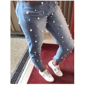 Blue Jeans Con Perlas - Ropa 83404bb0ea43
