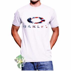 Camisa Social Oakley Manga Curta - Calçados, Roupas e Bolsas Branco ... 554338b924