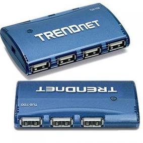Trendnet Usb 2.0 7-port De Alta Velocidade Hub Com 5v/2a Ada