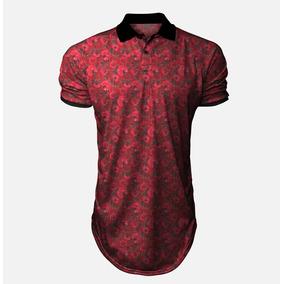 20633c06b8b8b Camisa Colombo - Pólos Manga Curta Masculinas no Mercado Livre Brasil