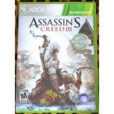 Assassin´s Creed 3 Xbox 360