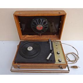 Antigo Radio Toca Discos 1970 - ( Vitrola Valvula Capela )