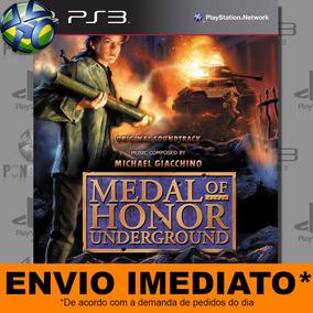 Jogo Medal Of Honor Underground Ps3 Midia Digital Cód Psn