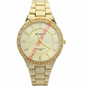 6c5dbc37c35 Relogio Ouro E Diamante - Joias e Relógios no Mercado Livre Brasil