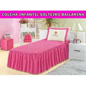 f9e4c561f Kit Colcha Bailarina Solteiro 3 - Casa, Móveis e Decoração no ...