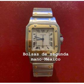 Reloj Santos De Cartier Acero Oro 32mm Original