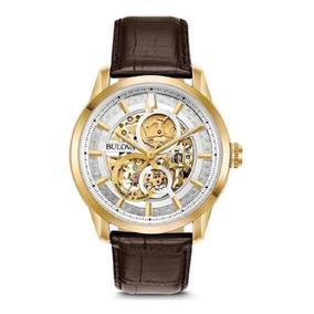 db8e807baa4 Relógio Masculino Dourado - Relógio Bulova Masculino no Mercado ...