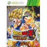 Dragon Ball Ultimate Tenchai Para Rgh (xbox 360)