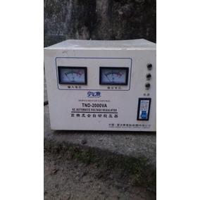 Regulador Automático De Voltagem - Tnd 2000va