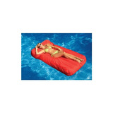 Mattress Pool Lounger Color: Rojo, Cantidad: Unidad Individu