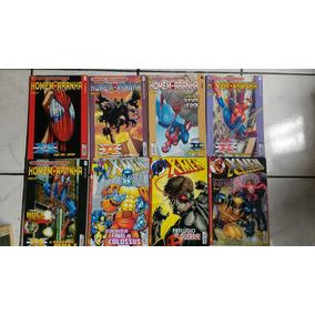 8 Gibis X-man E Homem Aranha Premium Hq Quadrinhos[