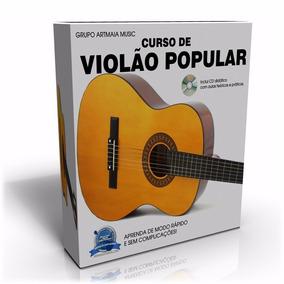 Curso De Violão Popular Com Certificado - Frete Grátis