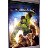 Dvd O Incrível Hulk - Edição Com Luva - 2 Discos - Raro