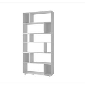 Mueble Librero Con 6 Niveles Blanco Be 44-06