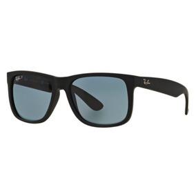 c12ac4c47e052 Oculos Sol Ray Ban Justin Rb4165 622 2v 57 Preto Polarizado