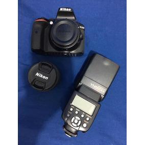 Câmera Nikon D5300 +flash Yognuo
