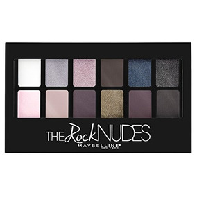 Maybelline New York The Rock Nudes Palette, 0.35 Onza