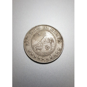 Moeda Boliviana De 1 Peso Boliviano De 1969