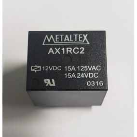 Kit 5 Un Rele 15amp 12v Ax1rc2 (metaltex) 100% Original