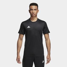 555fcc0ef2f Camisa adidas Core 18 Masculina Preto - M - Cinza