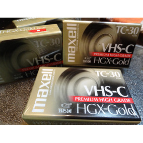 Cinta Cassette Formato Vhs C Para Filmadoras Y Camaras Video