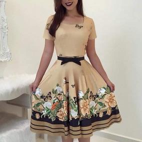 Vestido Com Mangas Moda Evangélica Frete Grátis 20-25 Dias.