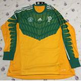 Camisa De Goleiro Palmeiras Iii 2014 S/nº adidas Manga Longa