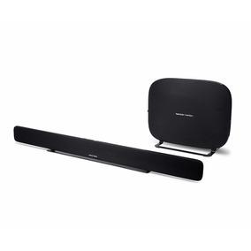 Barra De Sonido Wifi Y Bluetooth Omnibar+ Negro Hk