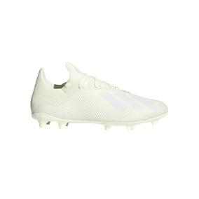 Botines Con Tapones adidas Futbol X 18.3 Fg Hombre Cr/bl