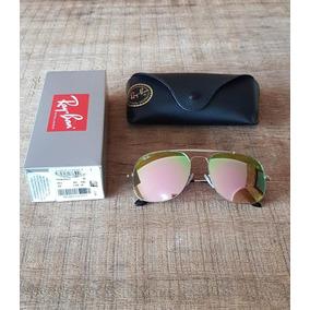 7349ce9f68a62 Oculos Rayban Espelhado Rosa Quadrado - Óculos no Mercado Livre Brasil