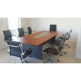 Mesa De Reuniones De Vidrio - Muebles para Oficinas en Mercado Libre ...