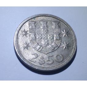 Moeda 2,50 Escudos 1967 Portugal
