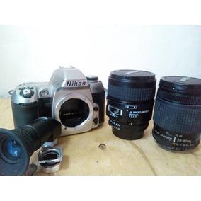 Nikon Af80 + Lente Nikon 28-80 Mm+lente Nikon Micro 60mm