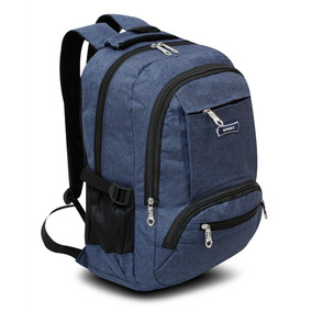 Mochila Escolar Mc.carthy Mod. Mc-80-4 Azul