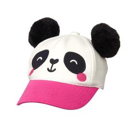 Gymboree Gorra Osito Panda Nina Talla12-14ms Nueva