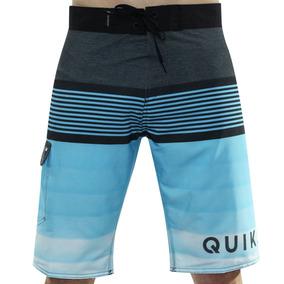 Bermuda Quiksilver Cut Wave - Bermudas Masculinas no Mercado Livre ... 9026e25121