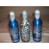 Botellas Polar Aluminio Lote Vacias Decorar Bar Oferta Usado