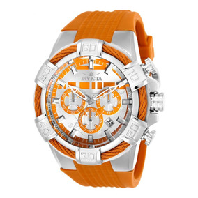 Reloj Invicta Star Wars Silicona Naranja Hombres.
