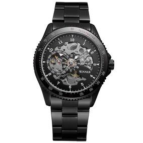 dcdc0c66e32b Winner 010 Hombres Reloj Semi -automático Mecánico Reloj T