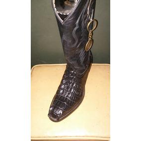 Botas Vaqueras Negras De Cocodrilo - Zapatos en Mercado Libre México 5fa9afae8e9