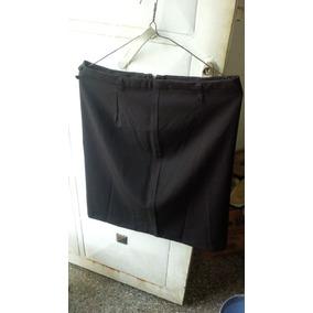 Falda Ejecutiva Negra De Vestir Para Damas c8b76cfcf4ad