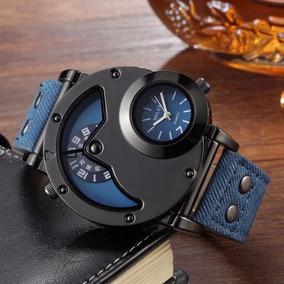 Relógio Militar Multi Movimento Miler + Brinde Relógio Womag