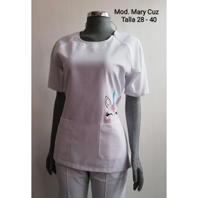 d168813e5 Filipina Estampada Para Dama Enfermera Enfermería Uniformes en ...